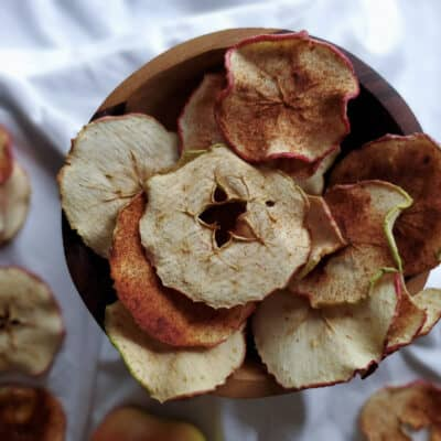 Dehydrated Cinnamon Apple Rings
