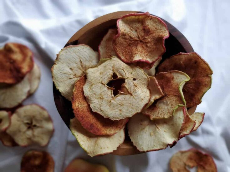 Dehydrated Cinnamon Apple Rings