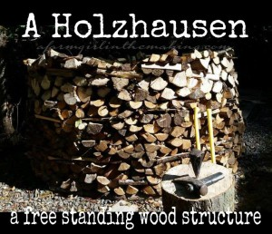 The Holzhausen, A European Method For Stacking Wood