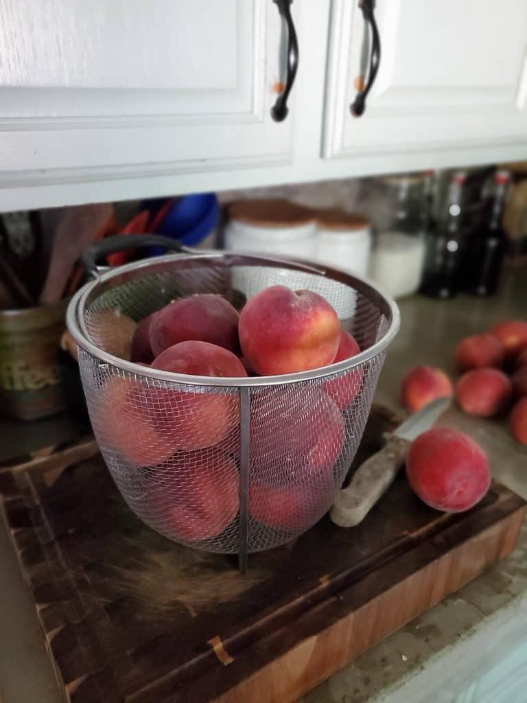 drunken peaches