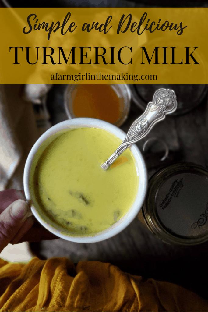 simple golden milk recipe