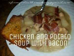 Chicken and Potato Soup with Bacon