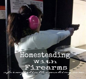 Homesteading With Firearms