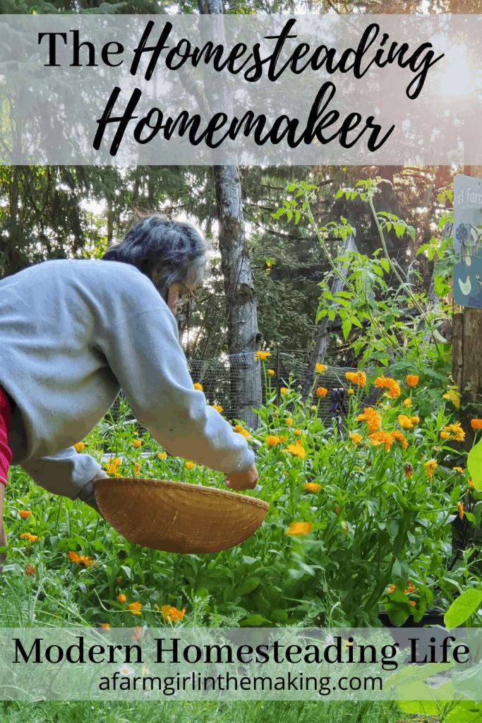 homesteading homemaker