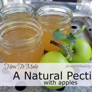 how to make a natural pectin