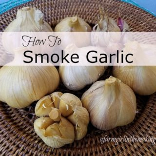 home smoked garlic