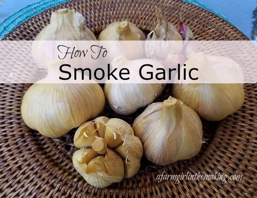 Home Smoked Garlic
