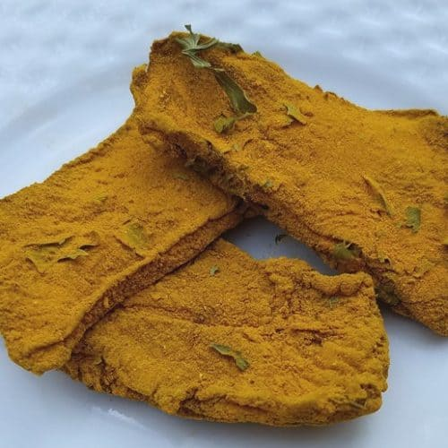 Natural Dog Treats | Liver and Turmeric