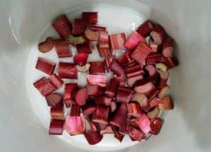 rhubarb simple syrup