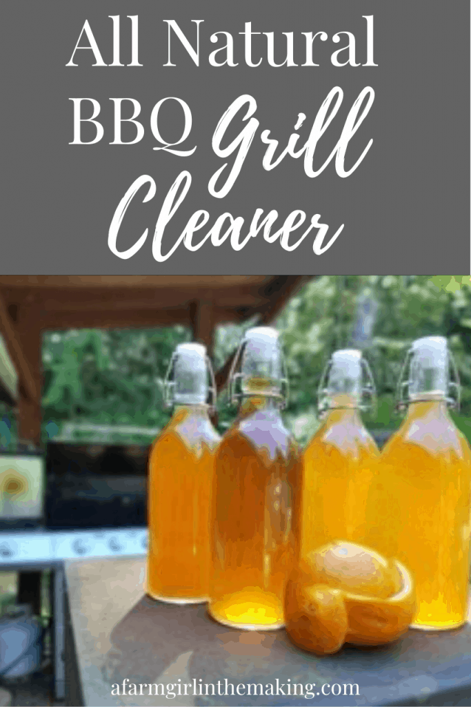 natural grill cleaner