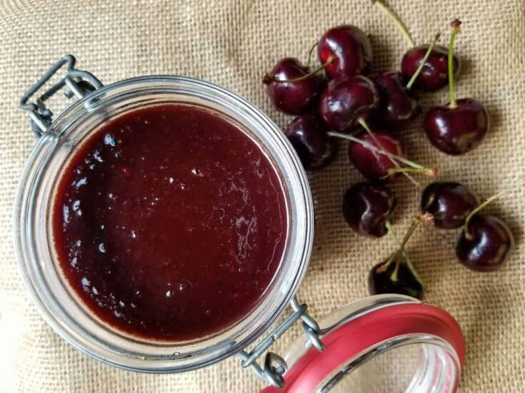 Canning Cherry BBQ Sauce - Preserving the Cherry Harvest with a Smoked Chipotle Flavor