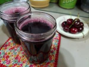 Canning Cherry Juice with a Steam Juicer