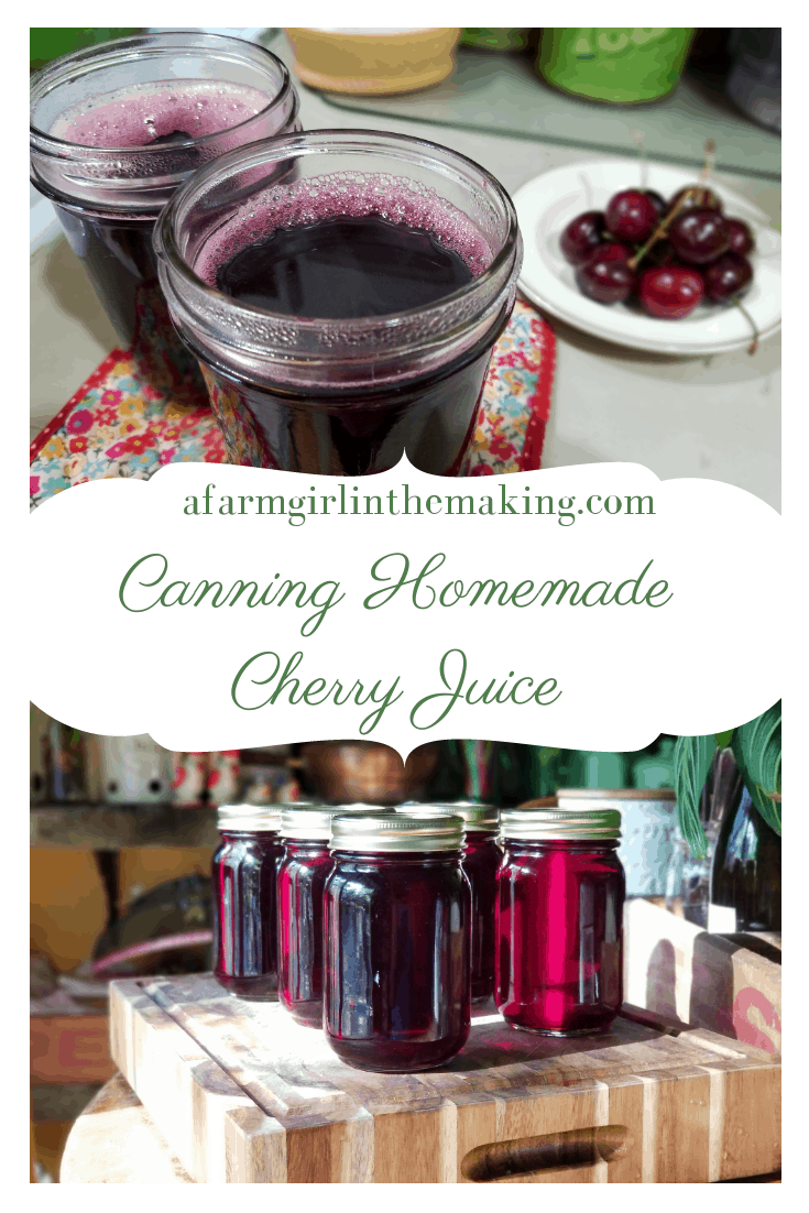 Canning Homemade Cherry Juice - The Benefits of Using a Steam Juicer to Preserve the Harvest