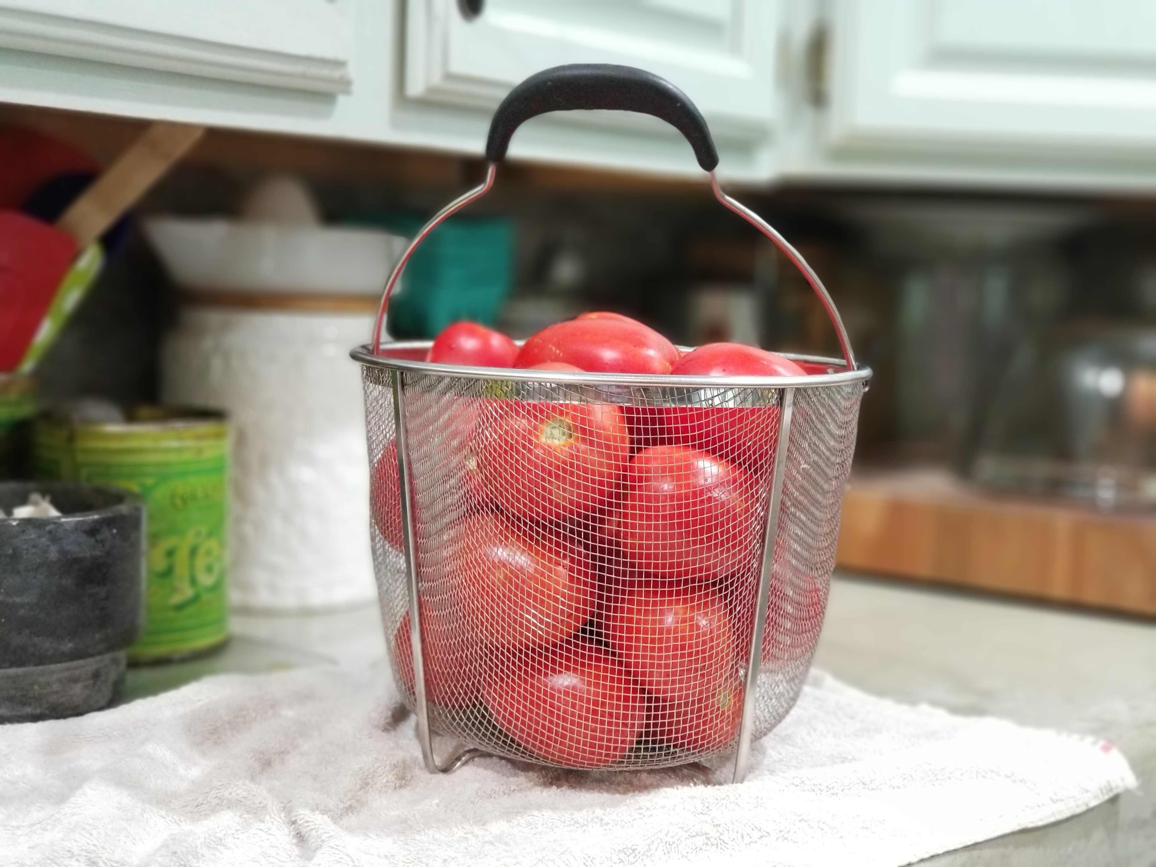 Canning Tomatoes-a Step by Step Guide and Video