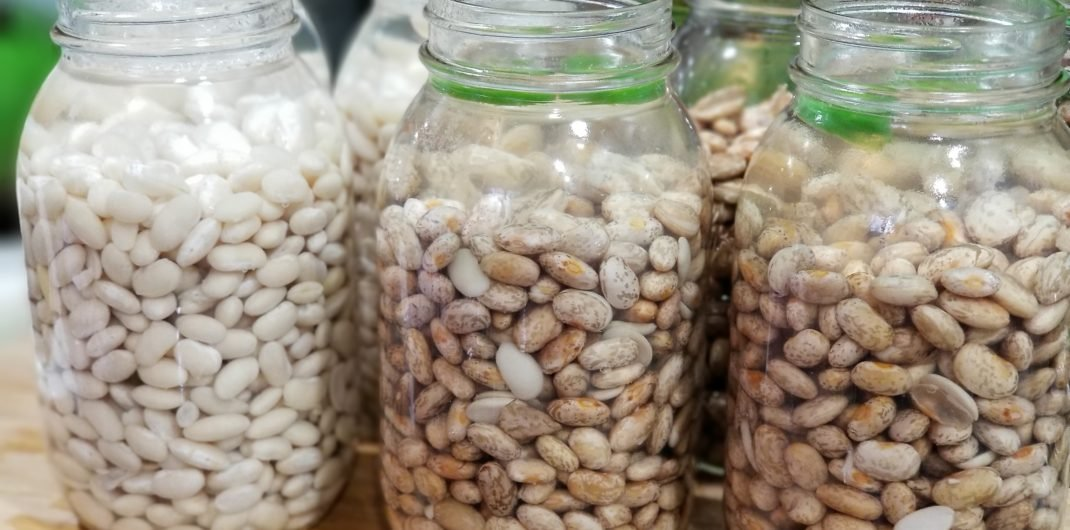 Canning Dried Beans with Bean Bread Recipe