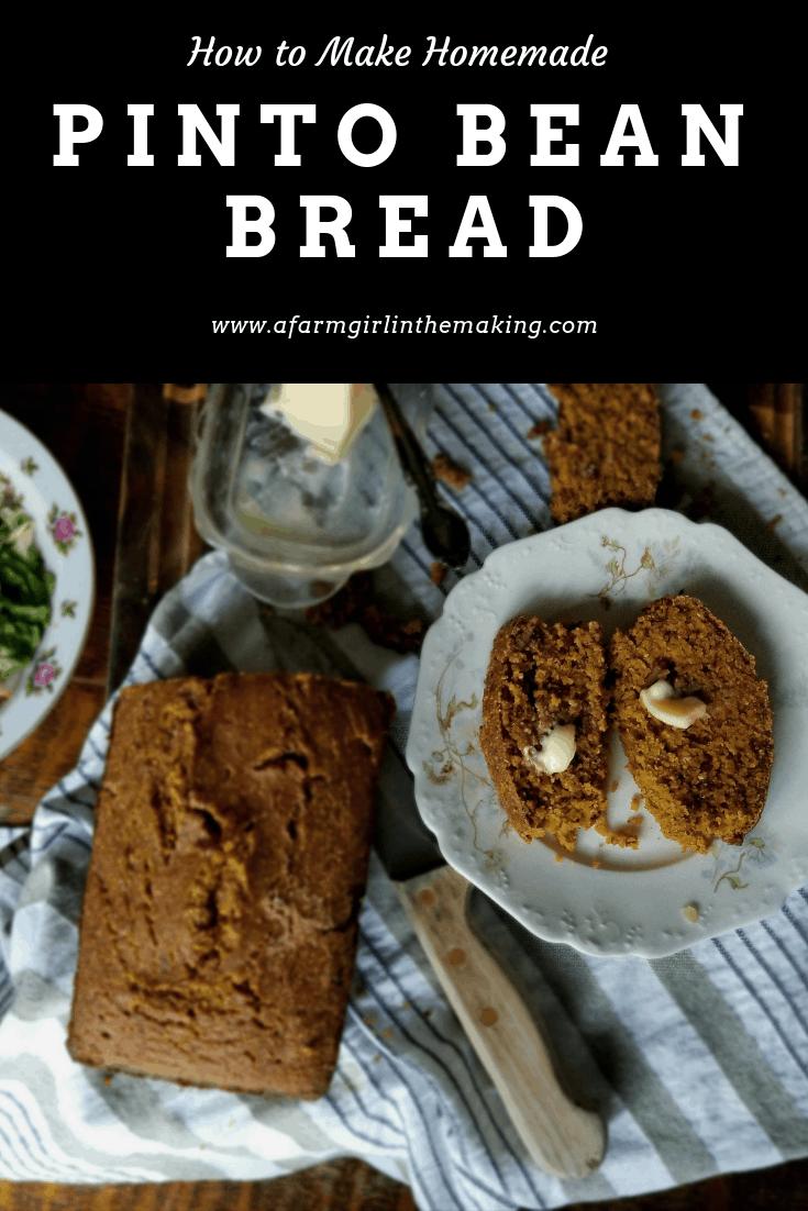 Pinto Bean Bread | A Hearty Recipe