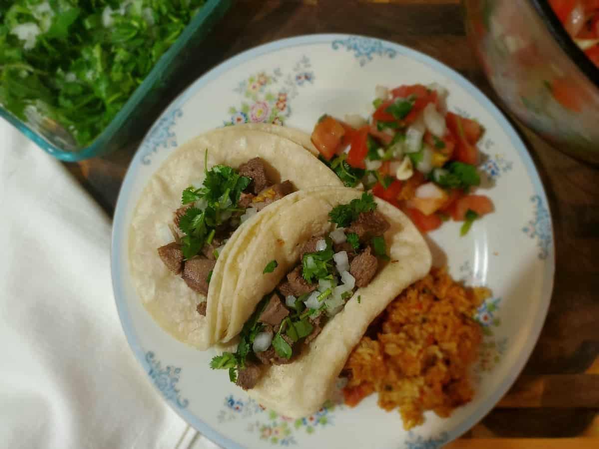 Beef Tongue Tacos Recipe | Tacos de Lengua