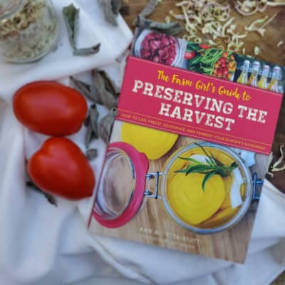 Preserving the Harvest – My New Book