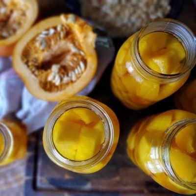 Pressure Canning Pumpkin