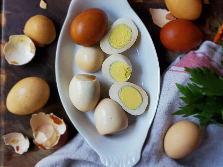 Hickory Smoked Eggs Recipe
