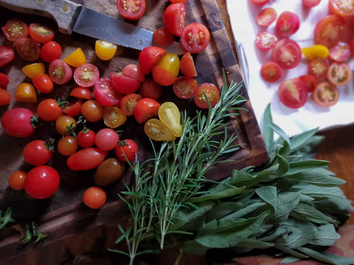 tomato herbal conserve recipe