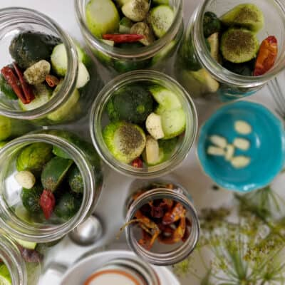 Pickled Cucumber Recipe with Canning Tips