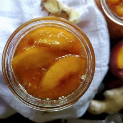 Ginger Peach Conserve Recipe | Canning Tips
