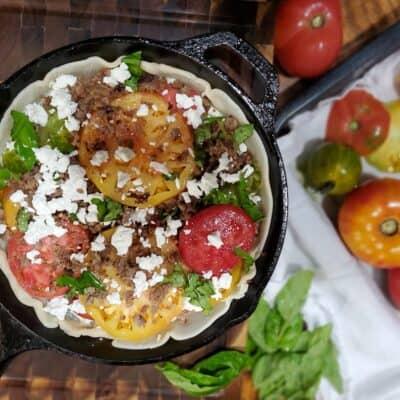 Delicious Savory Tomato Pie Recipe