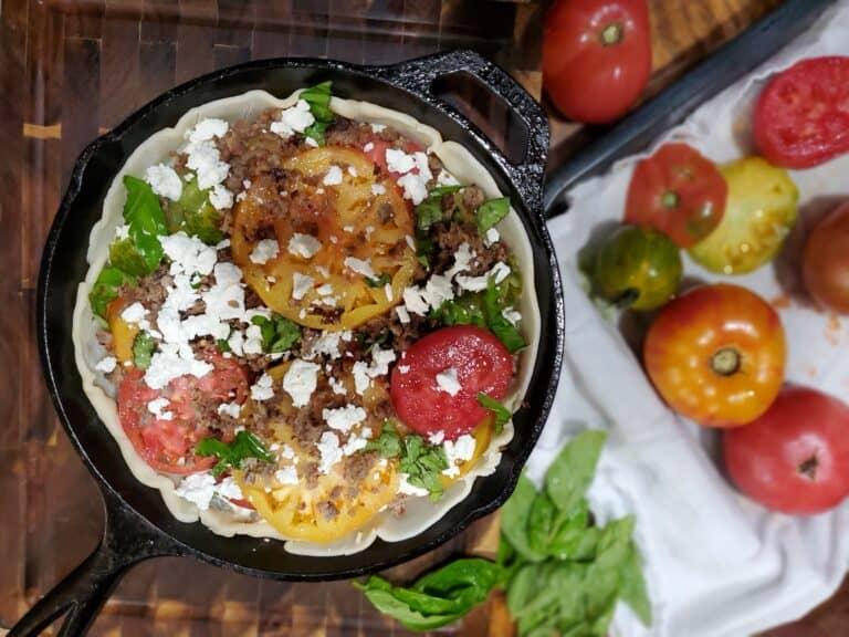 Savory Tomato Pie Recipe