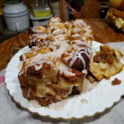 Apple Pull-Apart Bread using Canned Apples