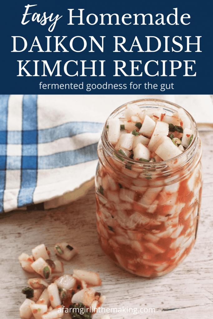 daikon kimchi recipe