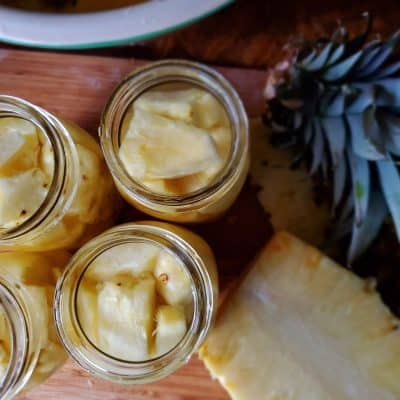 Canning Pineapple with these Easy Steps