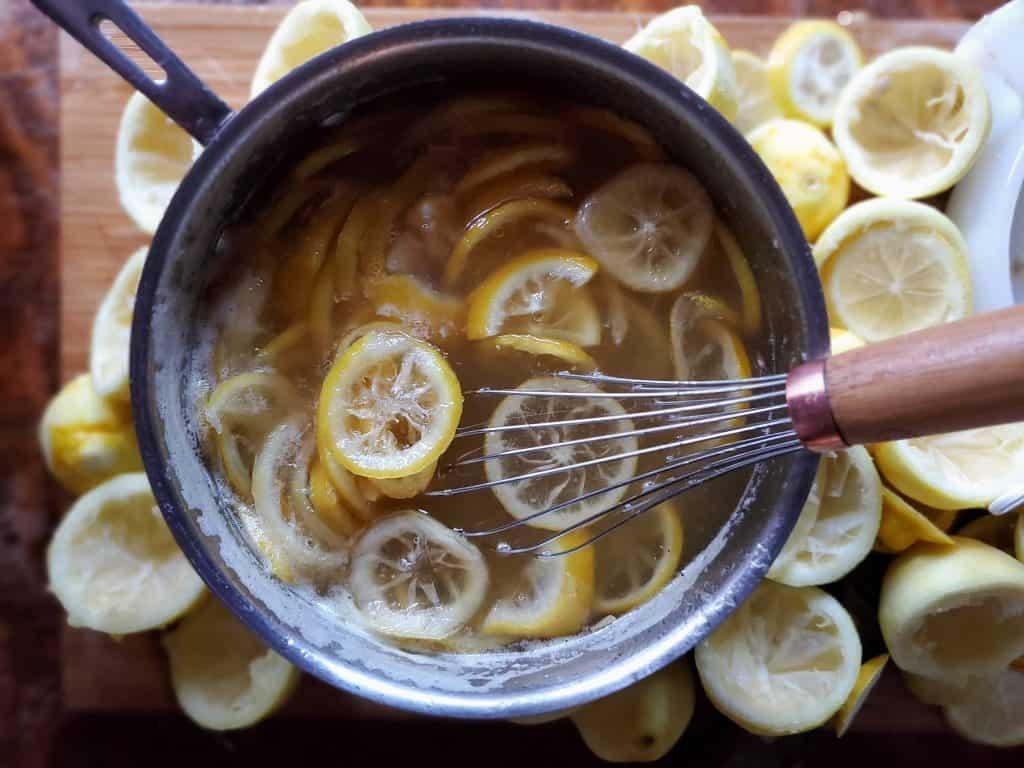 canning lemons