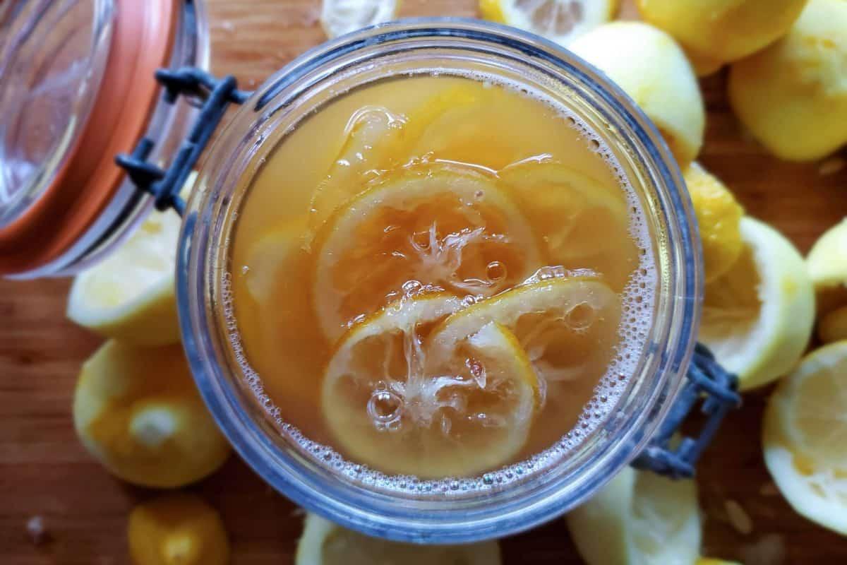 Lemon Syrup Recipe   Canning Lemons