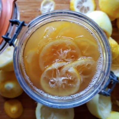Lemon Syrup Recipe | Canning Lemons
