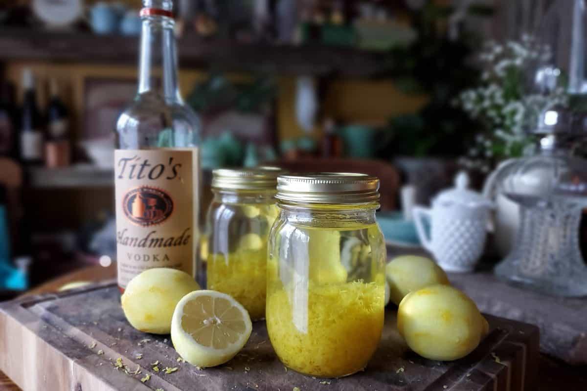 Delicious Homemade Lemon Extract Recipe