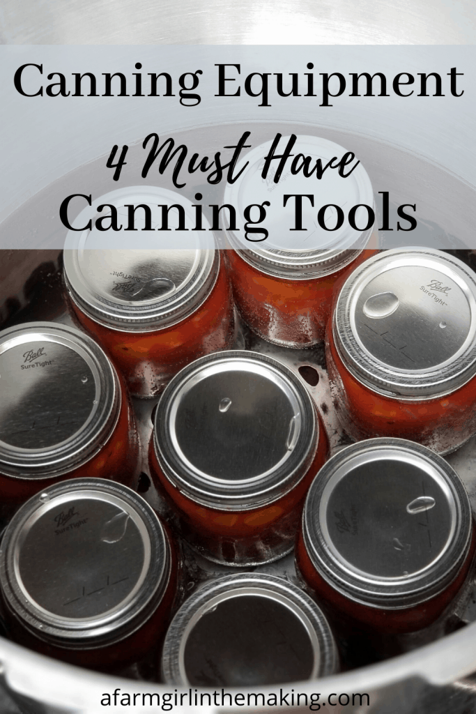 home canning supplies