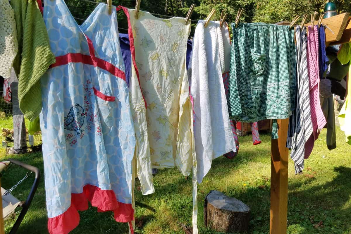 DIY Clothesline | Dry Clothes Outdoors