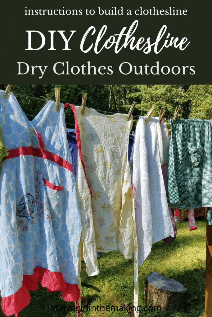 DRY CLOTHES OUTDOORS