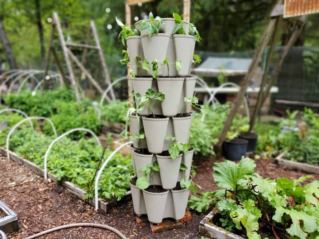 vertical garden tower