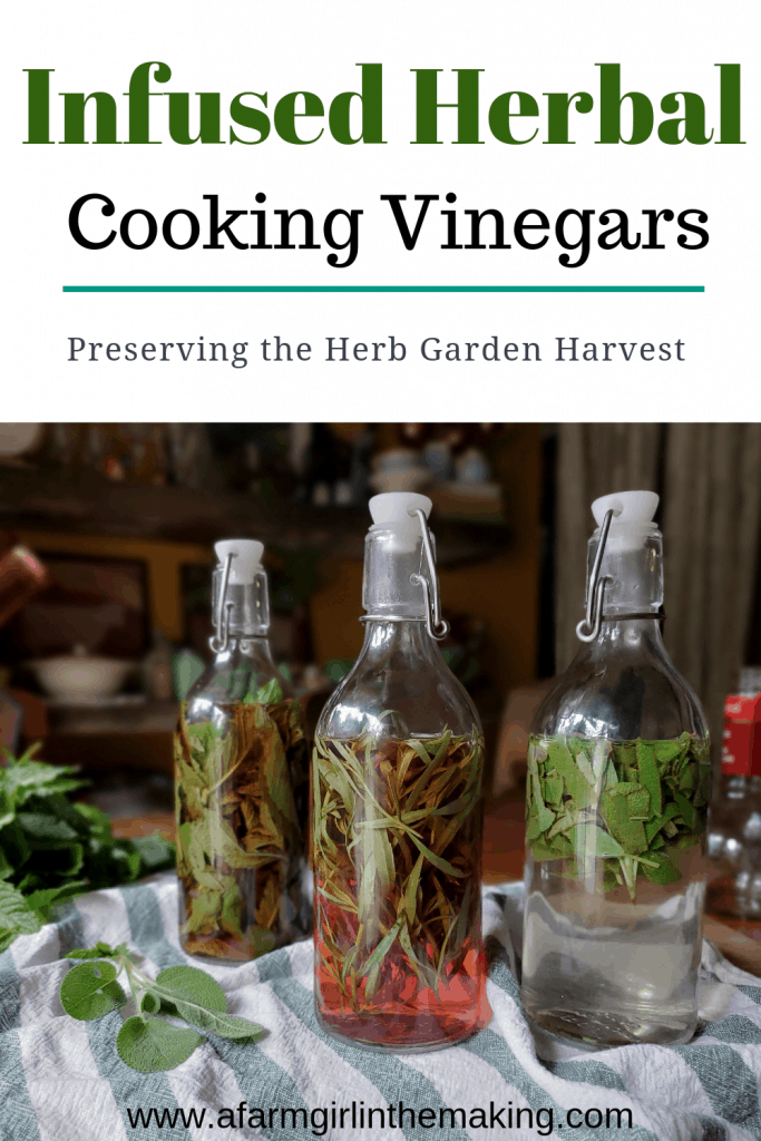 how to make herbal vinegars