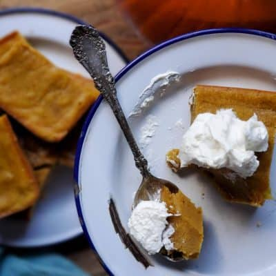 Homemade Pumpkin Bars using Home Canned Pumpkin