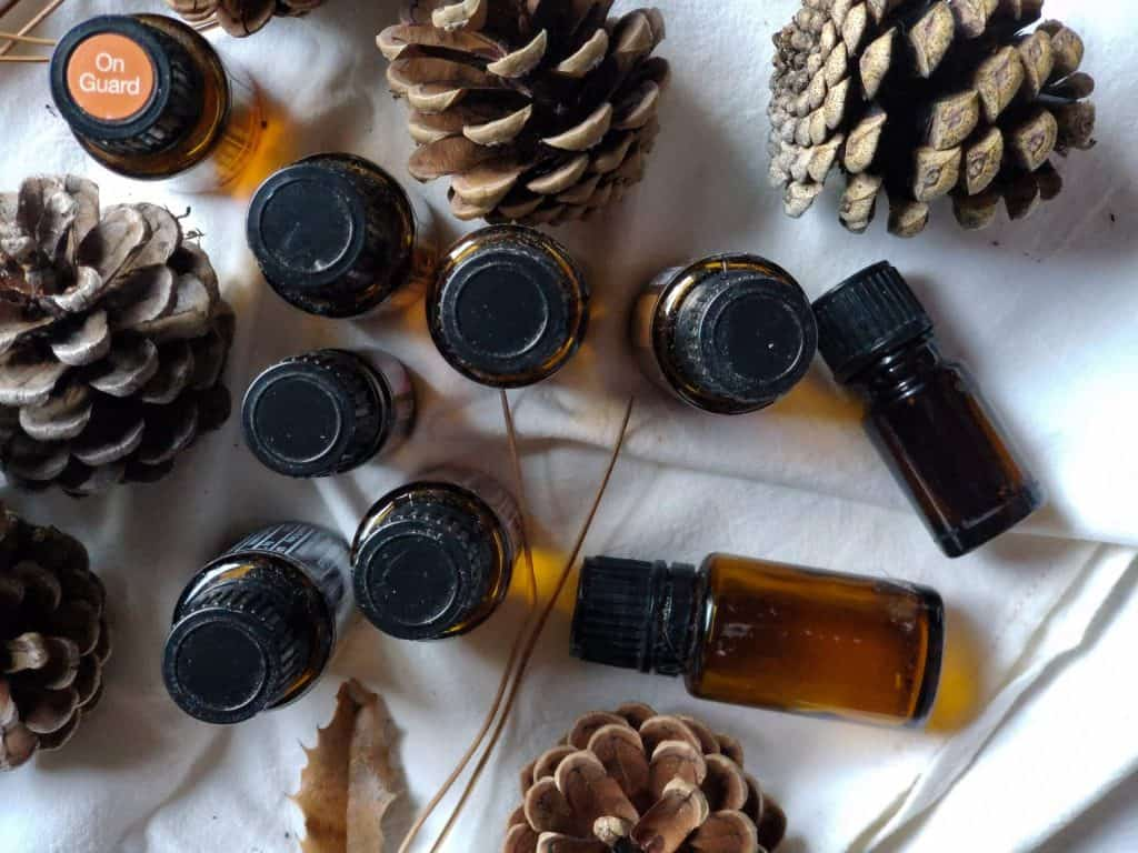 how to scent pine cones is with the use of essential oils