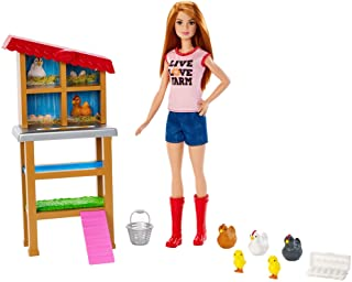 gifts for homesteading kids crazy chicken lady barbie