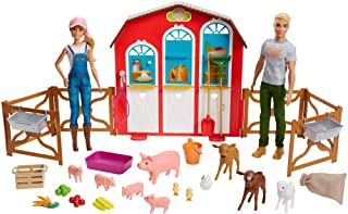 gifts for homesteading kids is the barnyard barbie kit