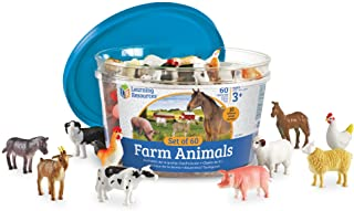 gifts for homesteading kids plastic farm animals