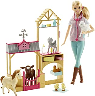 gifts for homesteading kids is a vet barbie set