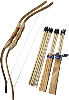 a beginners bow and arrow set makes great gifts for homesteading kids