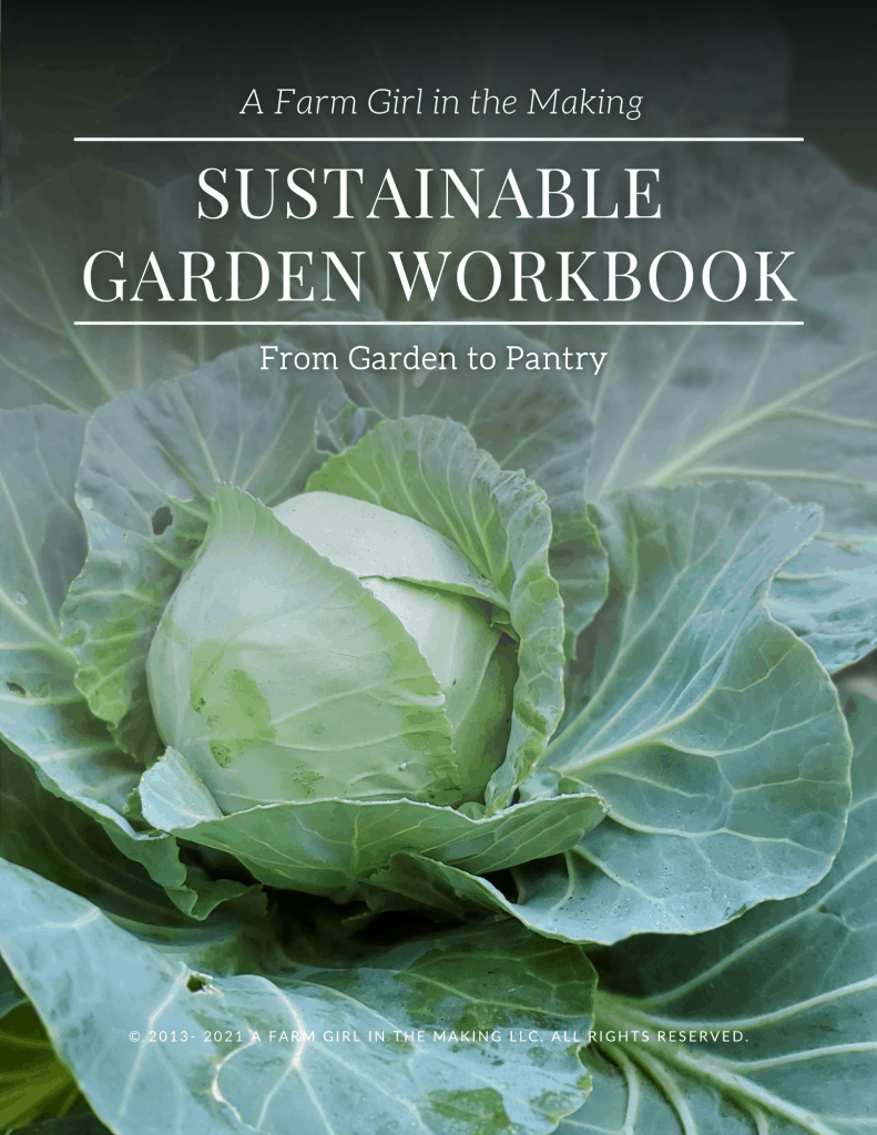 This image has an empty alt attribute; its file name is Sustainable-Garden-Workbook-791x1024.png