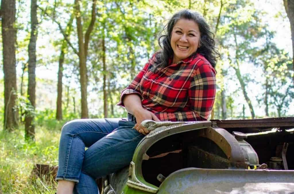 Photo of Ann of A Farm Girl in the Making, a homesteading mentor.